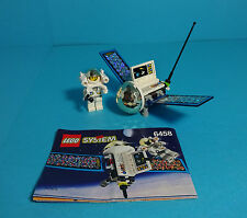 LEGO Town, Space Port ~ Satellite with Astronaut (6458) & Anleitung