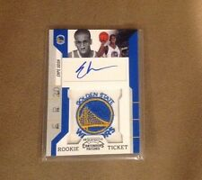 Ekpe Udoh 2011 Contenders Rookie Ticket Autograph Patches Golden State Warriors
