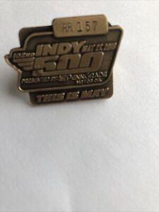 2018 Indianapolis 500 Motor Speedway Bronze Pit Badge/pass Will Power Winner