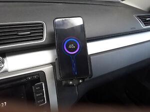 VW Handyhalterung für Ladekabel Ladeschale Smartphone Aufnahme Konsole Adapter