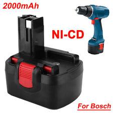 14.4V 2000mAh 2.0Ah Ni-CD Rechargeable Battery Pack for Bosch 1661K PSR1440 BPST