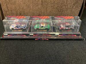 Race Image Collectibles NASCAR 3 Toy Car Set Burton Marin Schrader 33 6 99 Rare