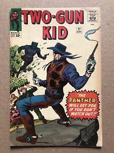 TWO-GUN KID #77 VG-/VG 1st BLACK PANTHER PROTOTYPE 1965 +BONUS! Jack Kirby