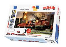 (h0) Coffret de Départ Pompier Märklin 29722 1 Pc(s)