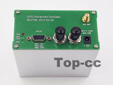 10MHZ OUTPUT SINE WAVE GPS DISCiPLINED CLOCK GPSDO + GPS Antenna+ Power supply