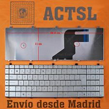 Teclado Español para ASUS N75SF Plata