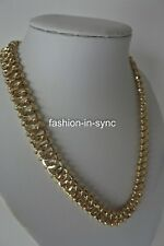 Mimco Soft Breeze Choker Gold Tone Hardware New with Dustbag