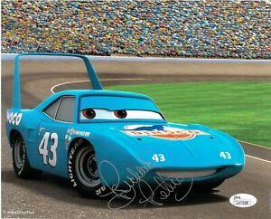 Richard Petty Signed 8X10 Photo Autographed JSA COA NASCAR Disney Cars 43