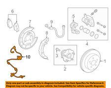 TOYOTA OEM-ABS Wheel Speed Sensor Right 895160R090