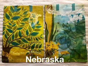 Trader Joe's Nebraska Reusable ECO 6 Gal Shopping Grocery Tote Bag NWT