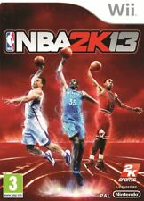 NBA 2K13 Nintendo Wii PAL Reino Unido ** GRATIS UK FRANQUEO!!! ** (casi como nuevo)