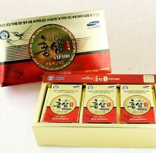 100% PURE Korean Red Ginseng Extract Gold VIP100 Panax 100g × 3ea = 300g