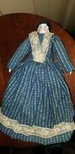 "Antique German China Shoulder Head Doll 9 1/4"" Tall"