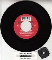 "D:REAM  Take Me Away (DREAM) 7"" 45 rpm vinyl record + juke box title strip RARE!"