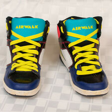 Airwalk Retro Neon Hi Top Basketball Shoes Women's Size 66