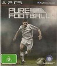 Pure Football Futbol GAME (Sony Playstion 3) PS PS3
