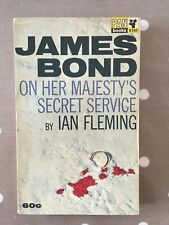 RARE On Her Majesty's Secret Service FIRST edition 1964 Ian Fleming JAMES BOND