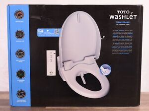 TOTO A200 Washlet Electronic Bidet Elongated Toilet Seat SW2024#01 SoftClose Lid