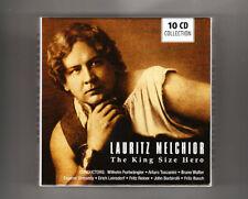(CD) LAURITZ MELCHIOR - King Size Hero / 10 CD Box Set