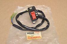 NOS Yamaha 1983-85 YTM200 Left Handle Bar Engine Run Stop Off Light Hi Lo Switch
