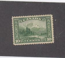 CANADA (MK6143) # 155  VF-MNH  10cts 1928 MOUNT HURD, BC / GREEN CAT VALUE $60