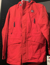 NEW WITH TAGS. AUTHENTIC TOMMY HILFIGER JACKET BOYS RED...