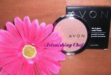 Avon Let It Glow Bronzing Powder Light-Medium New Lot Of 2