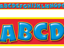 Awesome Alphabet Line ABC Bolder School Classroom Border