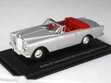 Bentley S2 CONTINENTAL DHC Cabrio Park Ward Yatming 43214 1:43 Nuovo Argento