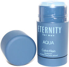 Eternity Aqua Deodorant Stick 2.6oz Alcohol Free For Men