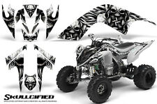 YAMAHA RAPTOR 700 GRAPHICS KIT DECALS STICKERS CREATORX SKULLCIFIED SW