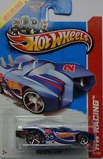 2013 Hot Wheels HW RACING Secret Treasure Hunts Prototype H-24 101/250 (Blue)