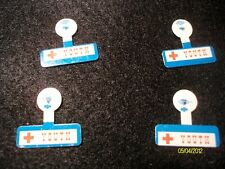 Set of  4 Red Cross Youth Pins