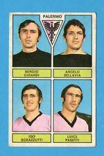 NEW-FIGURINA PANINI 1971/72- PALERMO-GIRARDI+BELLAVIA+SGRAZZUTTI+PASETTI - NEW