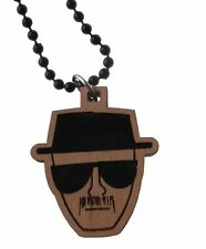 Good Wood NYC One Who Knocks Limited Collection Brown Black Dog Tag Necklace