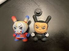 Kidrobot Batman 2017 Series Harley Quinn And The Penguin With Hat