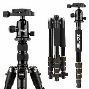 ZOMEI Q666 Portable Professional Tripod&Ball Head Travel for Camera Canon DSLR