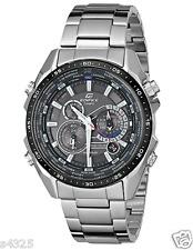 EQS-500DB-1A1 Black Casio Men Watches Edifice Perpetual Calendar Solar power