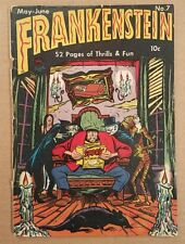 Frankenstein #7 GD Crestwood Publications Pre-code Horror