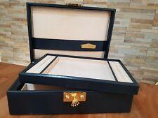 Montres Rolex Uhren & Schmuck Etui Box Geneve 51.00.01 + Schlüssel Rarität