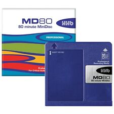 HHB MD80 Professional Grade 80 Minute MINIDISC *5-PACK