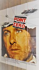 POINT LIMITE ZERO vanishing point  ! barry newman affiche cinema 1971 cars