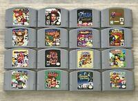 Nintendo N64 Games - Pick & Choose - TESTED - Mario Kart, Zelda, Pokemon REPROS*