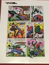 GIANT SIZE SPIDER-MAN 5 Lizard Gerry Conway Ross Andru Mike Esposito 1975