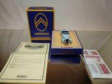NOREV CITROEN 22 CV ROADSTER 1934 -  8 CYLINDERS - BLUE 1:43 - EXCELLENT IN BOX