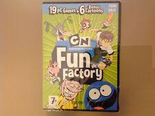 Cartoon Network Fun Factory PC DVD-ROM-CN-Brandneu Und Versiegelt