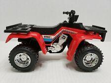 Rare Tootsietoys Honda 250 4 Wheeler ATV Red USA