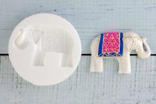 Silicone Mould, Asian Wedding Elephant Food Safe Fondant Resin M109