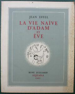 La vie naïve d'Adam et Eve Effel - Humour Dessins