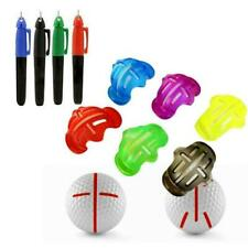 Mark Golf Ball Stencil Monogrammer Marker Template Line 6Colors Pen Drawing S7M7
